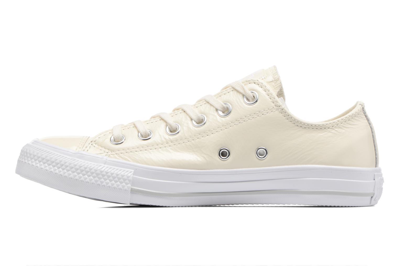3be4e7452 ... Converse Converse Converse Chuck Taylor All Star Crinkled Patent cuero  Ox (Blanco) - Deportivas ...