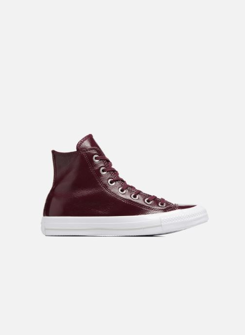 c6fc9e340e4d Trainers Converse Chuck Taylor All Star Crinkled Patent Leather Hi Burgundy  back view