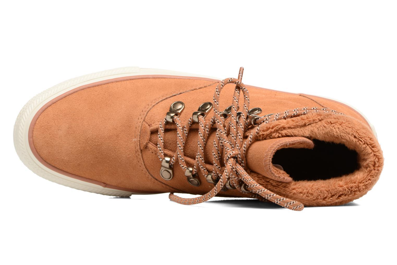 Bottines et boots Converse Chuck Taylor All Star Ember Boot Suede + Fur Hi Marron vue gauche