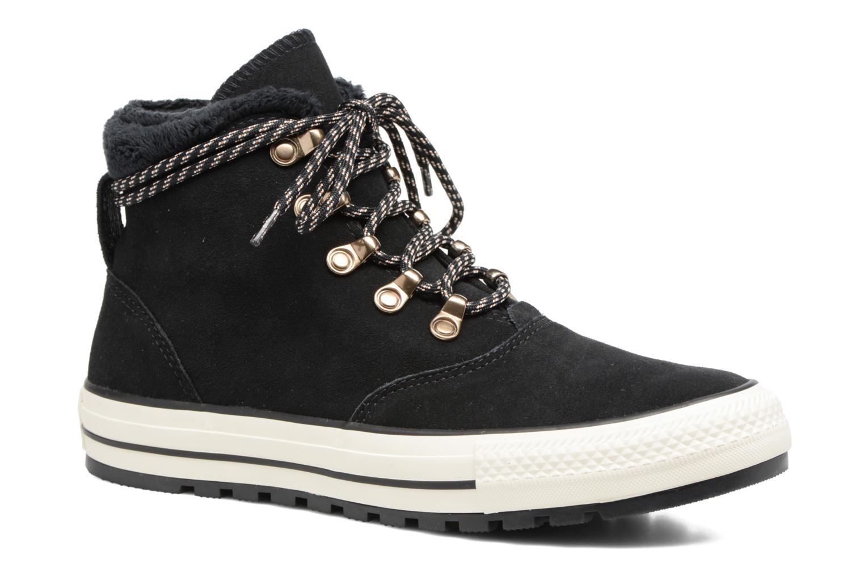 Botines  Converse Chuck Taylor All Star Ember Boot Suede + Fur Hi Negro vista de detalle / par