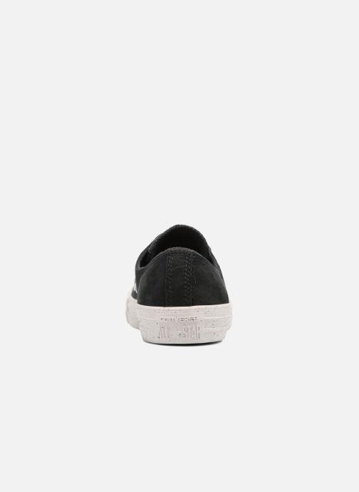 Sneakers Converse Chuck Taylor All Star Nubuck Ox W Zwart rechts