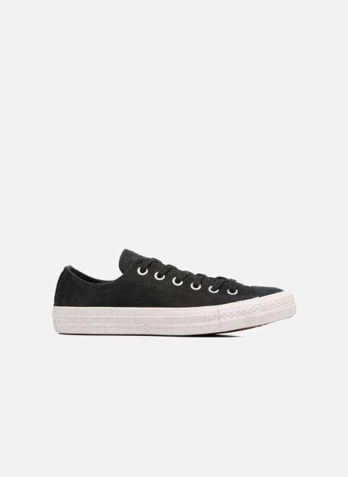 Sneakers Converse Chuck Taylor All Star Nubuck Ox W Zwart achterkant