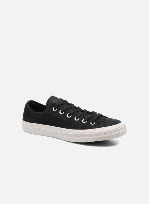 Sneakers Converse Chuck Taylor All Star Nubuck Ox W Zwart detail