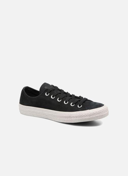 Sneaker Converse Chuck Taylor All Star Nubuck Ox W schwarz detaillierte ansicht/modell