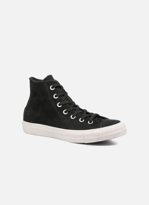 Converse Chuck Taylor All Star Nubuck Hi W (Noir) - Baskets ...