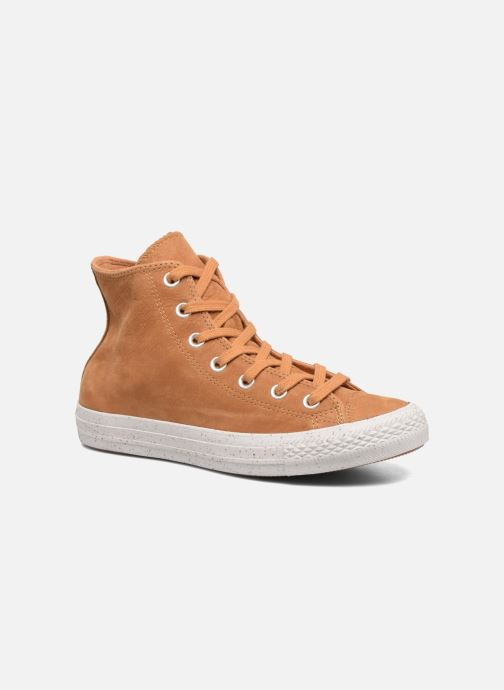 6bdae630f4f4 Converse Chuck Taylor All Star Nubuck Hi W (Brown) - Trainers chez ...