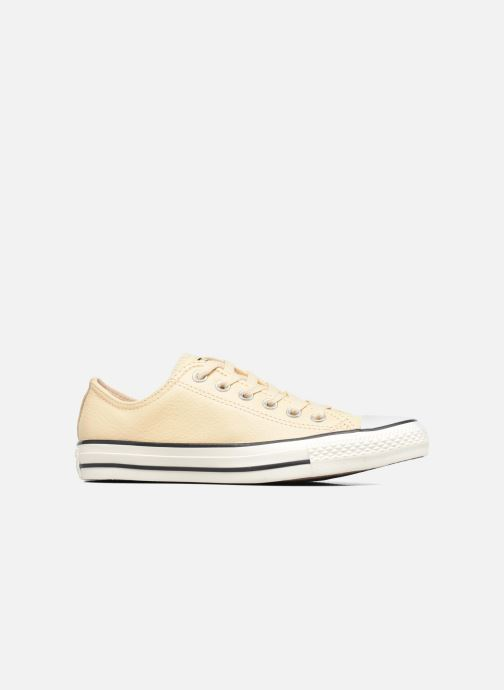 Trainers Converse Chuck Taylor All Star Tumbled Leather Ox Beige back view