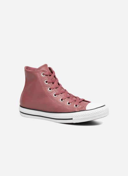 4e0b96920e74 Converse Chuck Taylor All Star Tumbled Leather Hi (Burgundy ...