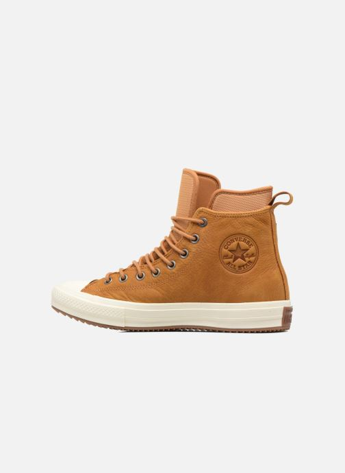 Trainers Converse Chuck Taylor WP Boot Nubuck Hi Brown front view
