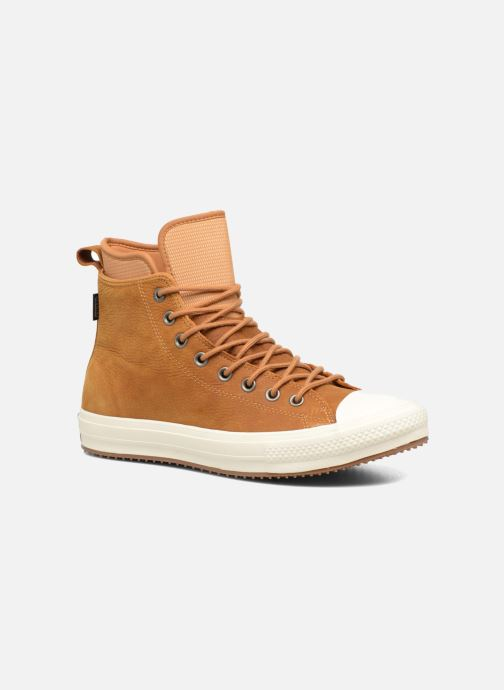 Trainers Converse Chuck Taylor WP Boot Nubuck Hi Brown detailed view/ Pair view