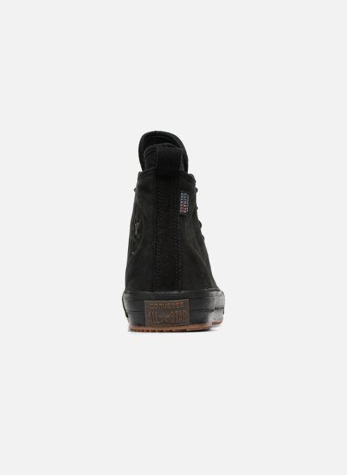 Sneakers Converse Chuck Taylor WP Boot Nubuck Hi Zwart rechts