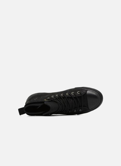 Sneakers Converse Chuck Taylor WP Boot Nubuck Hi Zwart links