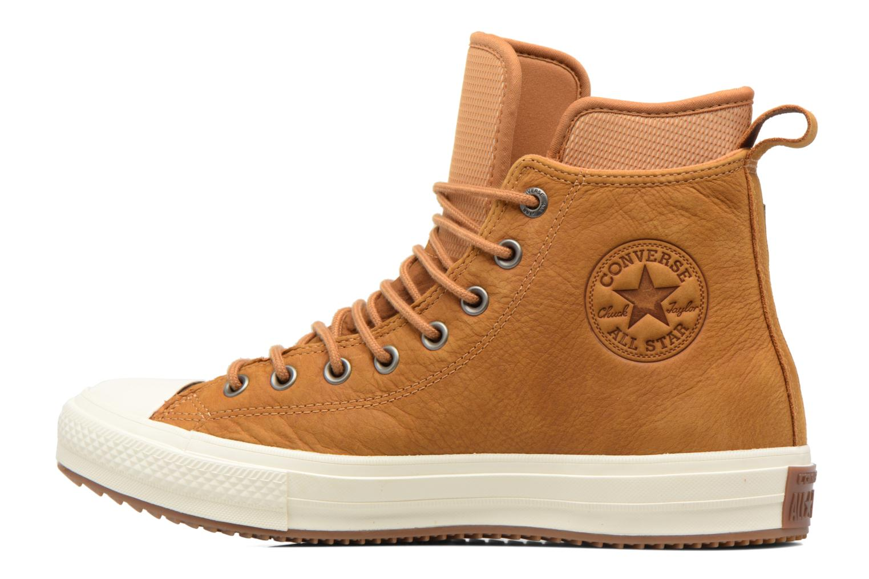 Sneakers Converse Chuck Taylor WP Boot Nubuck Hi Bruin voorkant