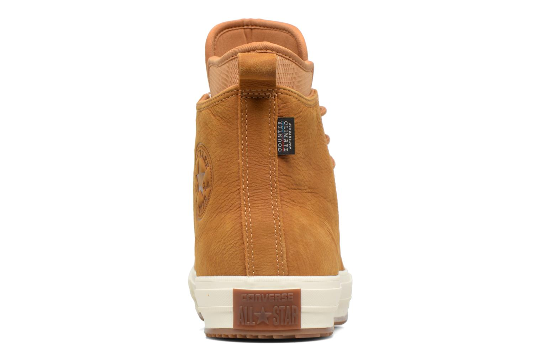 Sneakers Converse Chuck Taylor WP Boot Nubuck Hi Bruin rechts