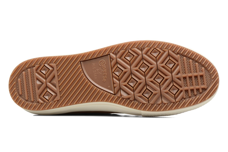 Sneakers Converse Chuck Taylor WP Boot Nubuck Hi Bruin boven