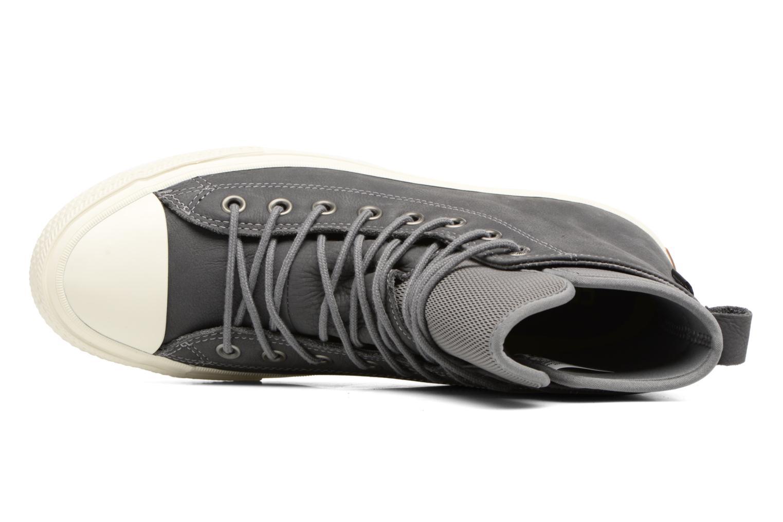 Sneaker Converse Chuck Taylor WP Boot Nubuck Hi grau ansicht von links