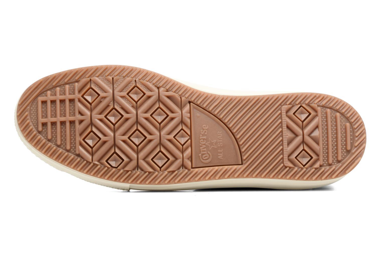 Sneakers Converse Chuck Taylor WP Boot Nubuck Hi Grijs boven