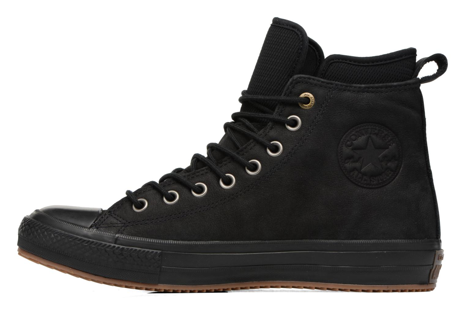 Trainers Converse Chuck Taylor WP Boot Nubuck Hi Black front view