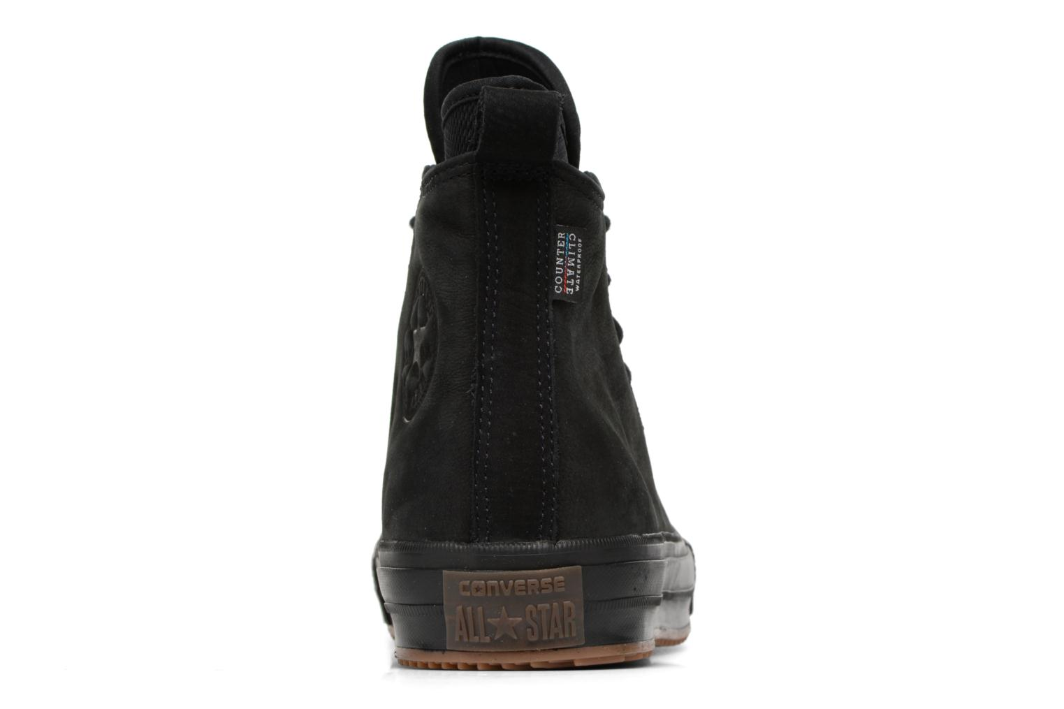 Trainers Converse Chuck Taylor WP Boot Nubuck Hi Black view from the right