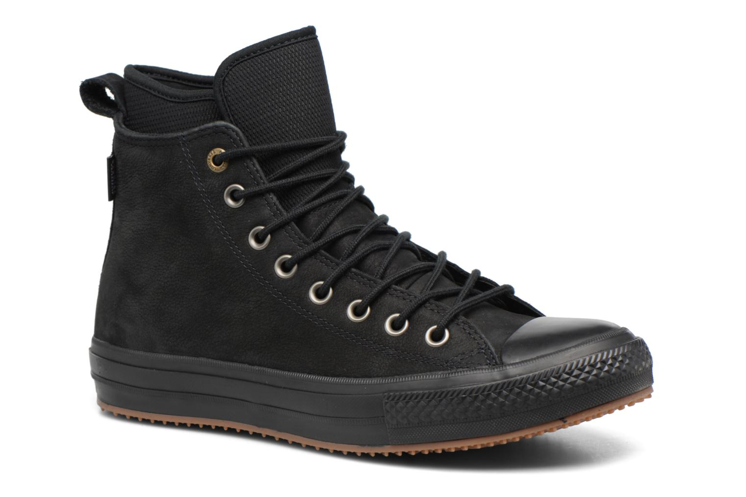 Trainers Converse Chuck Taylor WP Boot Nubuck Hi Black detailed view/ Pair view