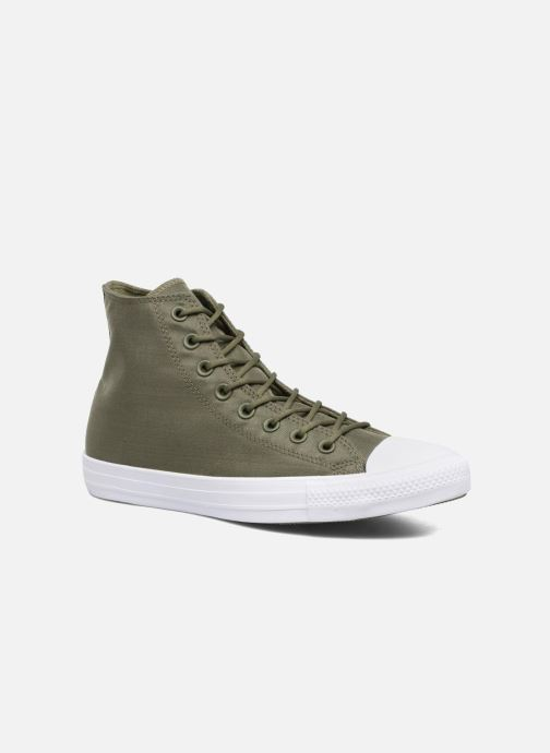 0c073abc11df Trainers Converse Chuck Taylor All Star Cordura Hi Green detailed view   Pair view