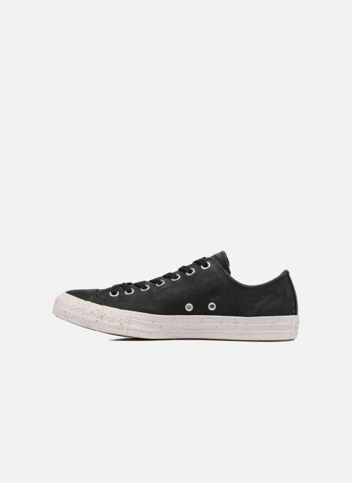Sneakers Converse Chuck Taylor All Star Nubuck Ox M Zwart voorkant