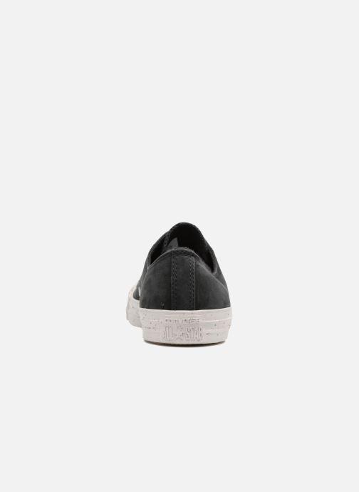 Sneakers Converse Chuck Taylor All Star Nubuck Ox M Zwart rechts