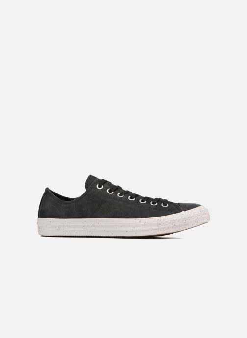 Trainers Converse Chuck Taylor All Star Nubuck Ox M Black back view