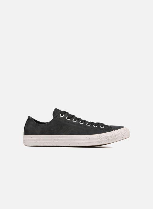 Sneakers Converse Chuck Taylor All Star Nubuck Ox M Zwart achterkant