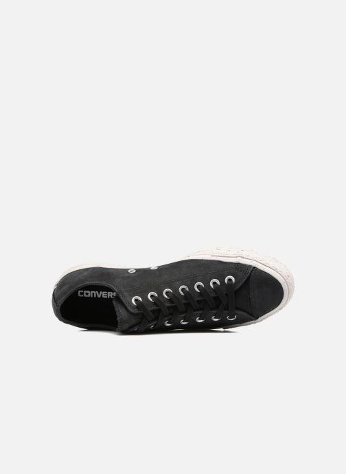 Sneakers Converse Chuck Taylor All Star Nubuck Ox M Zwart links