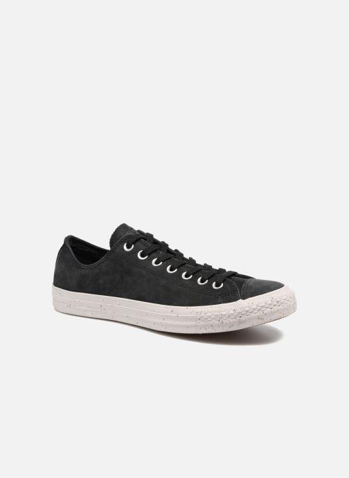 Sneakers Converse Chuck Taylor All Star Nubuck Ox M Zwart detail