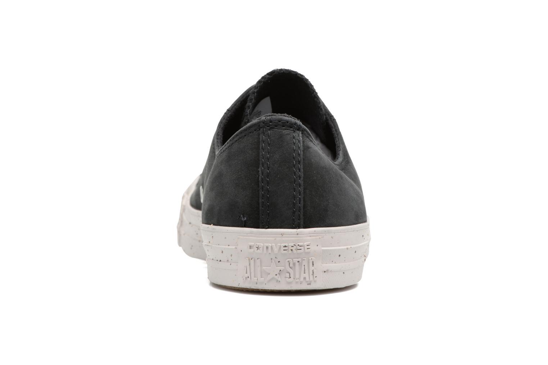 Sneaker Converse Chuck Taylor All Star Nubuck Ox M schwarz ansicht von rechts