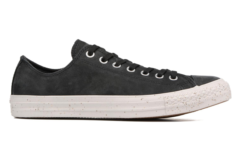 Sneaker Converse Chuck Taylor All Star Nubuck Ox M schwarz ansicht von hinten