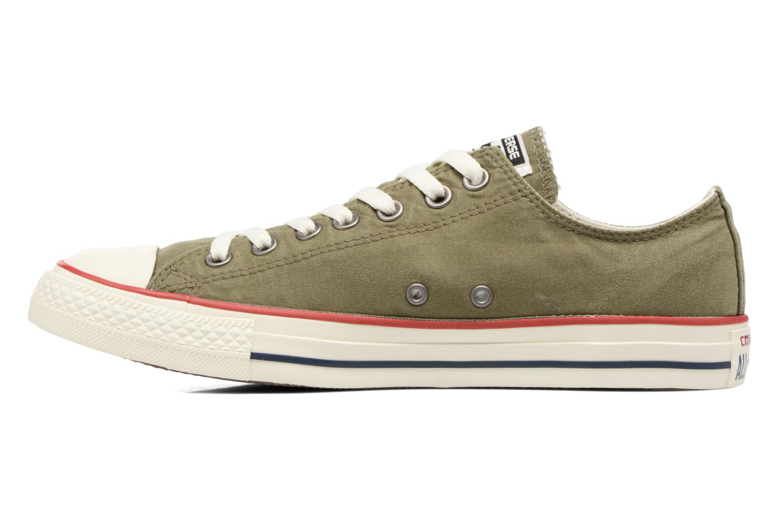 Trainers Converse Chuck Taylor All Star Ombre Wash Ox M Green front view