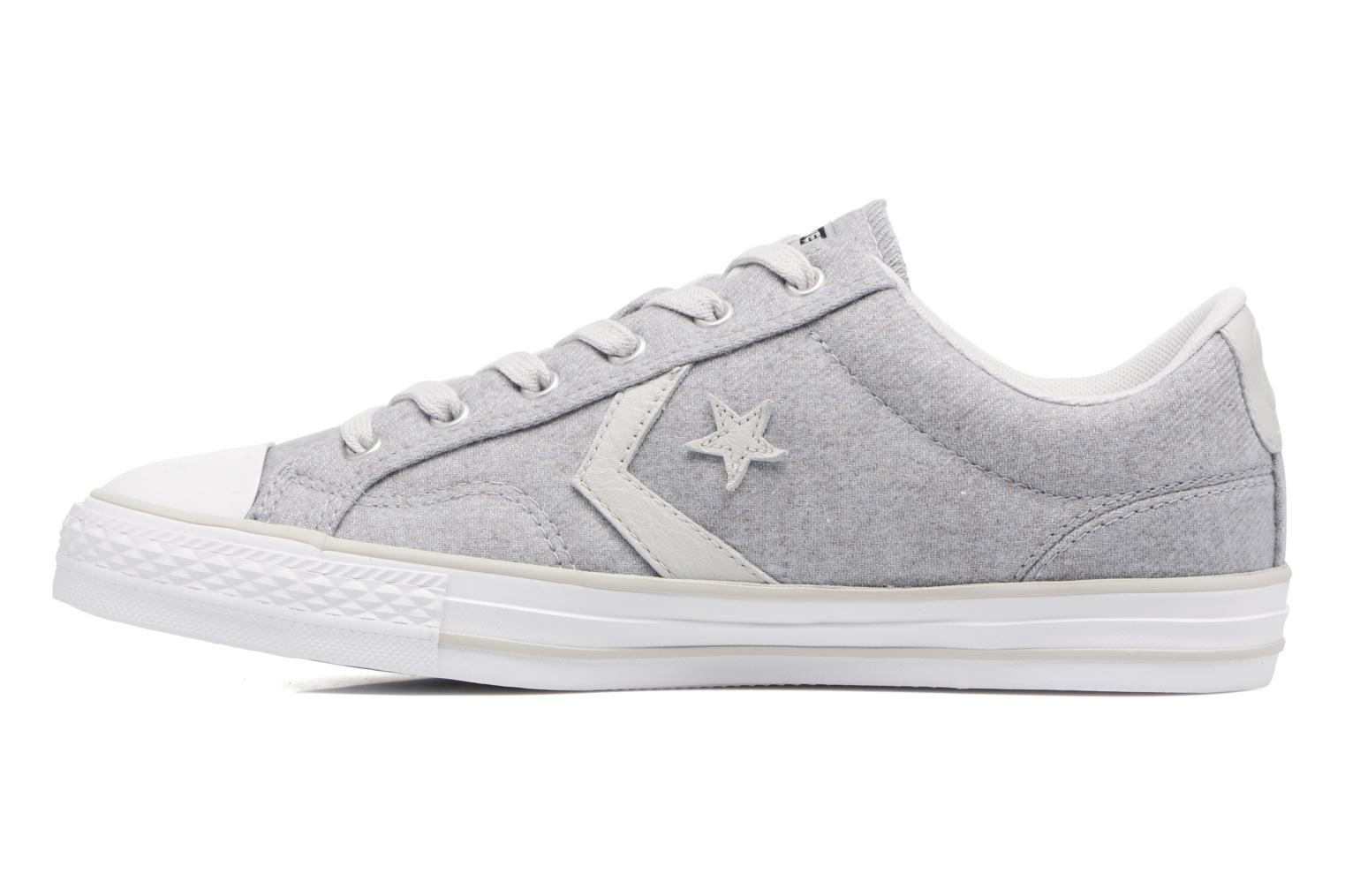 Sneakers Converse Star Player Textile Ox Grijs voorkant