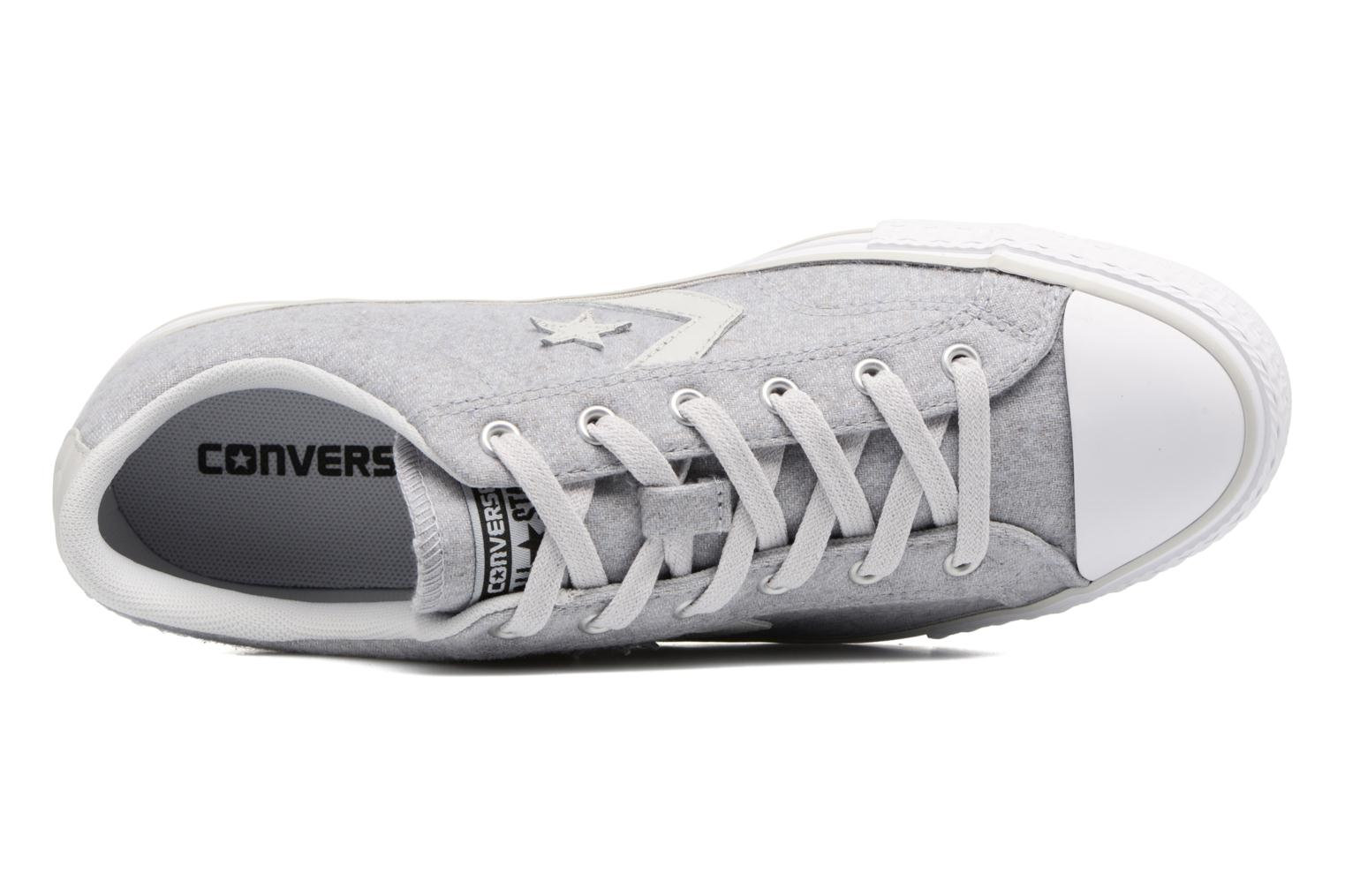 Baskets Converse Star Player Textile Ox Gris vue gauche