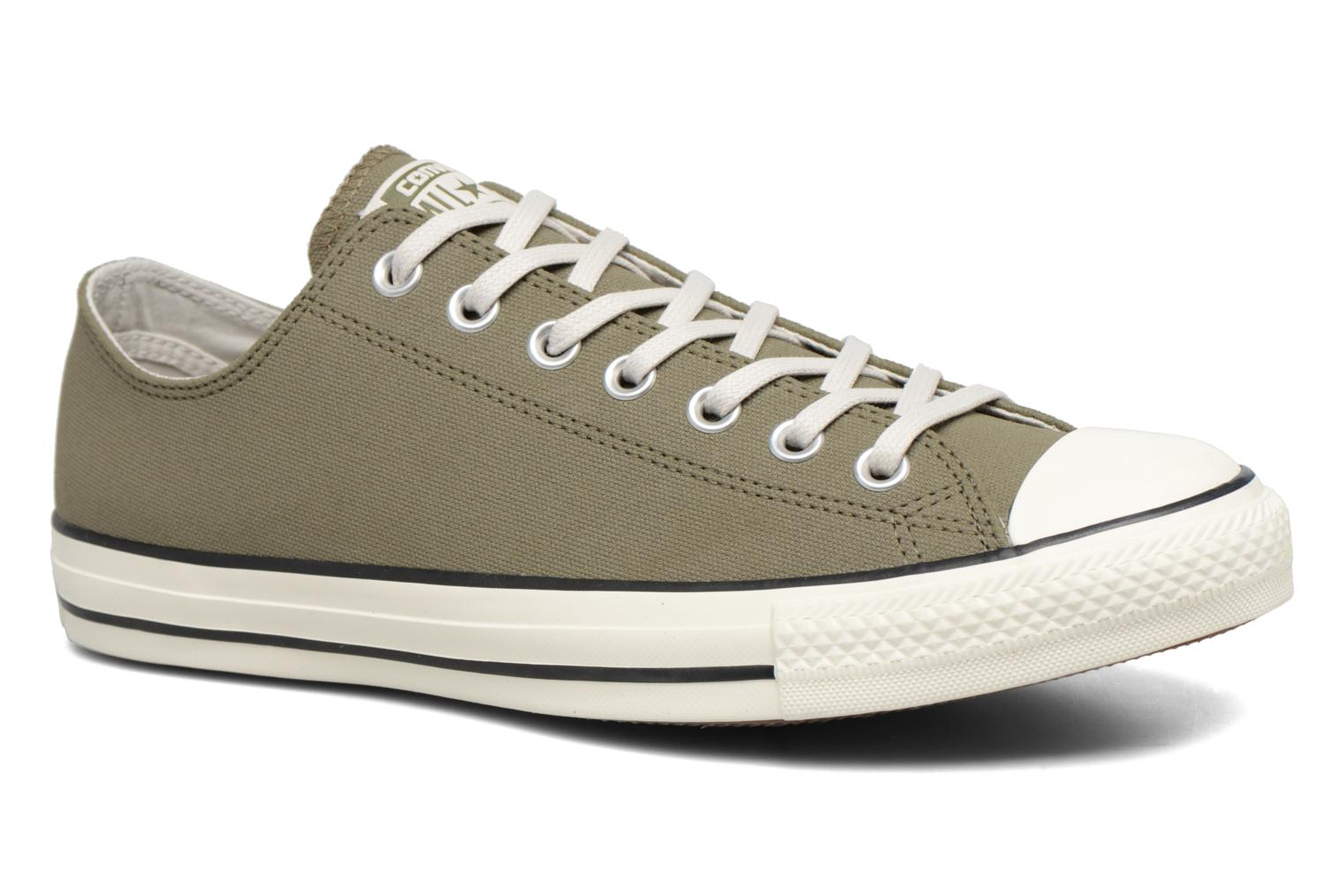 Sneaker Converse Chuck Taylor All Star Coated Leather Ox grün detaillierte ansicht/modell