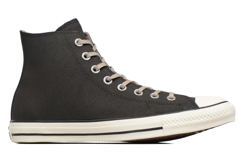 Sneaker Converse Chuck Taylor All Star Coated Leather Hi schwarz ansicht von hinten