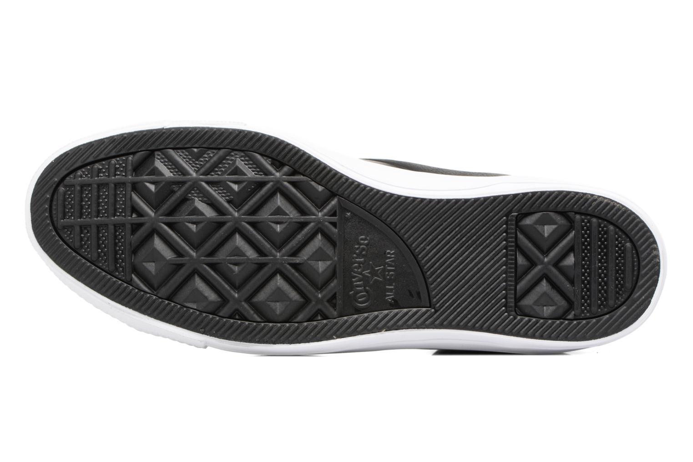 Sneaker Converse Star Player Leather Hi schwarz ansicht von oben