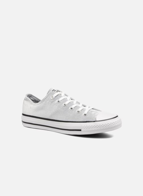 Sneaker Converse Chuck Taylor All Star Velvet Ox grau detaillierte ansicht/modell