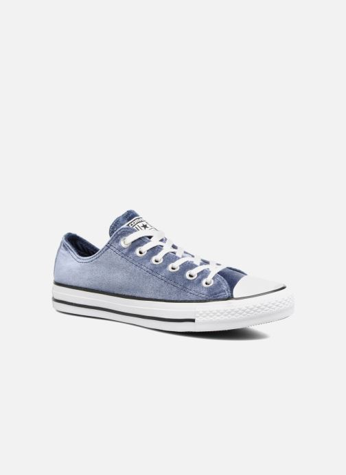 f9d68a3cbc3e90 Trainers Converse Chuck Taylor All Star Velvet Ox Blue detailed view  Pair  view