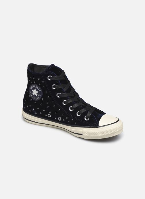 04adc368c93 Converse Chuck Taylor All Star Velvet Studs Hi (Blauw) - Sneakers ...