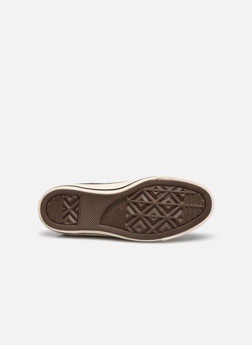 Sneakers Converse Chuck Taylor All Star Velvet Studs Hi Bordeaux boven