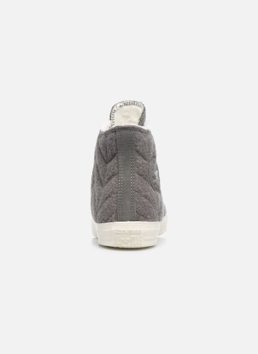 Trainers Converse Chuck Taylor All Star Wool Hi Grey view from the right