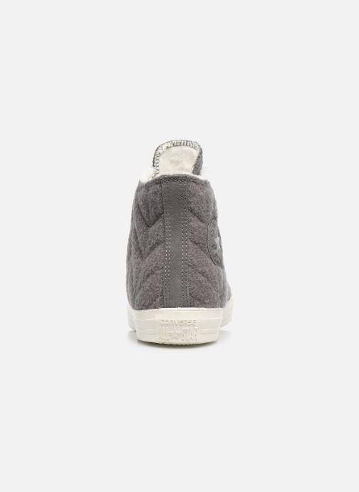 Sneakers Converse Chuck Taylor All Star Wool Hi Grigio immagine destra
