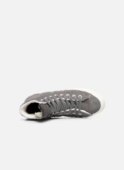 d037fb85eda Trainers Converse Chuck Taylor All Star Wool Hi Grey view from the left