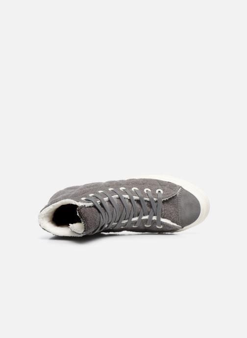 Sneakers Converse Chuck Taylor All Star Wool Hi Grigio immagine sinistra