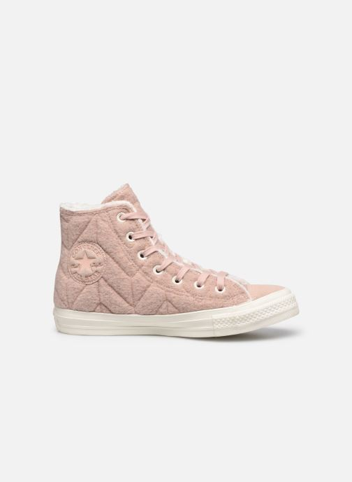Sneakers Converse Chuck Taylor All Star Wool Hi Rosa immagine posteriore
