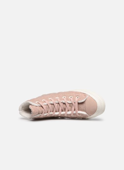 Sneakers Converse Chuck Taylor All Star Wool Hi Rosa immagine sinistra