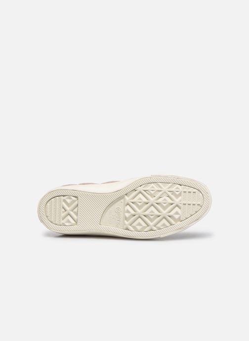 Sneakers Converse Chuck Taylor All Star Wool Hi Rosa immagine dall'alto